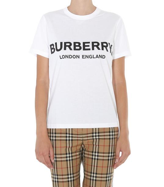 Burberry Logo T-shirt in white