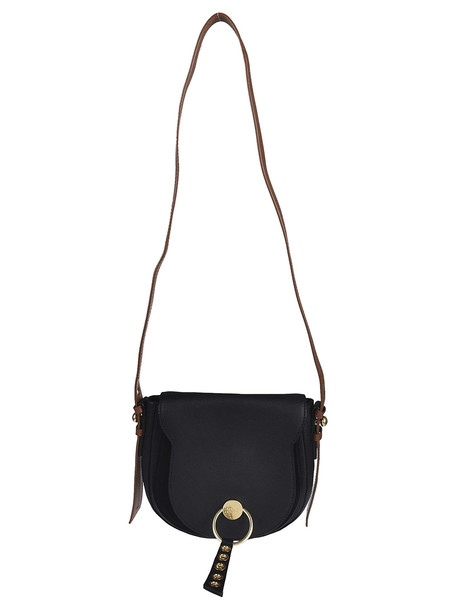See by Chloé See By Chloé Ring Shoulder Bag in nero
