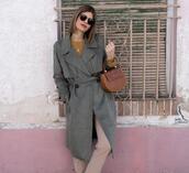ms treinta,blogger,coat,sweater,pants,bag,shoes