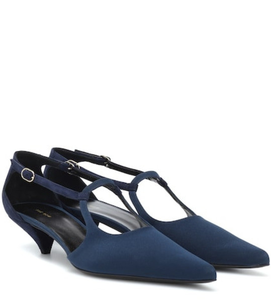 The Row Bourgeoise Salomé pumps in blue