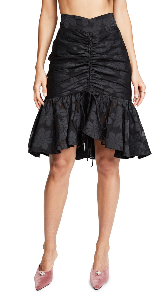 Milly Brittany Skirt in black