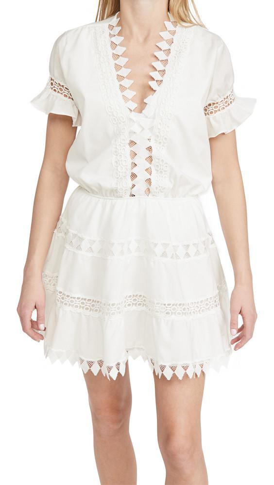 Peixoto Ora Cover Up Dress in white