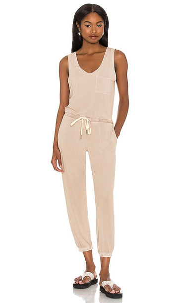 n:philanthropy World Jumpsuit in Nude in sand