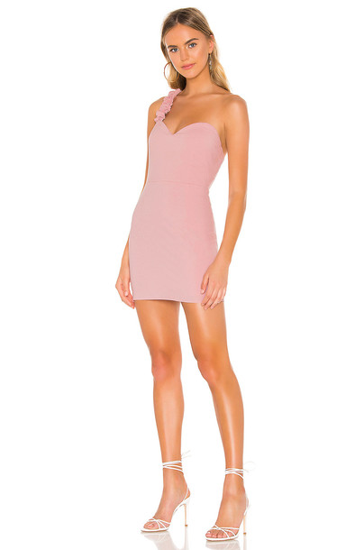 superdown Courtney Sweetheart Dress in pink