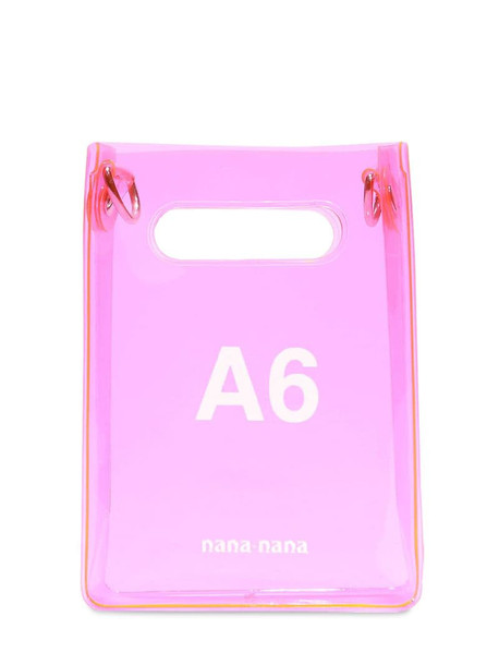 NANA NANA A6 Pvc Shopping Bag in pink