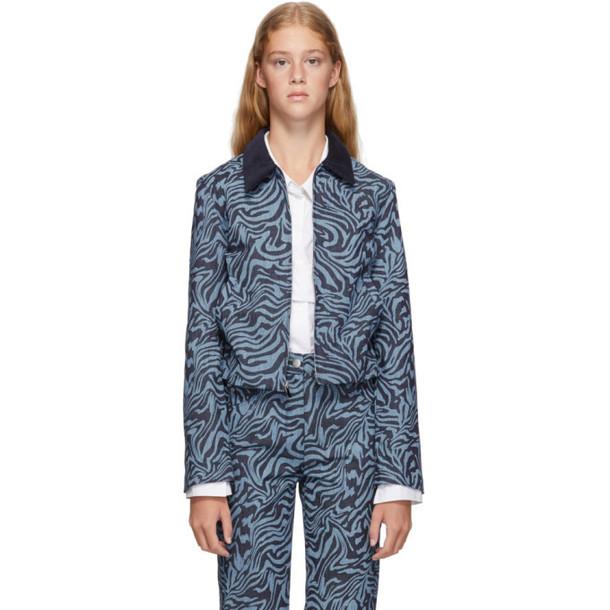 Miaou Blue Zebra Kai Jacket