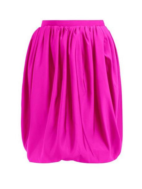 Calvin Klein 205w39nyc - Bubble Silk Faille Skirt - Womens - Pink