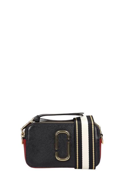 Marc Jacobs Logo Strap Snapshot Small Camera Bag in black