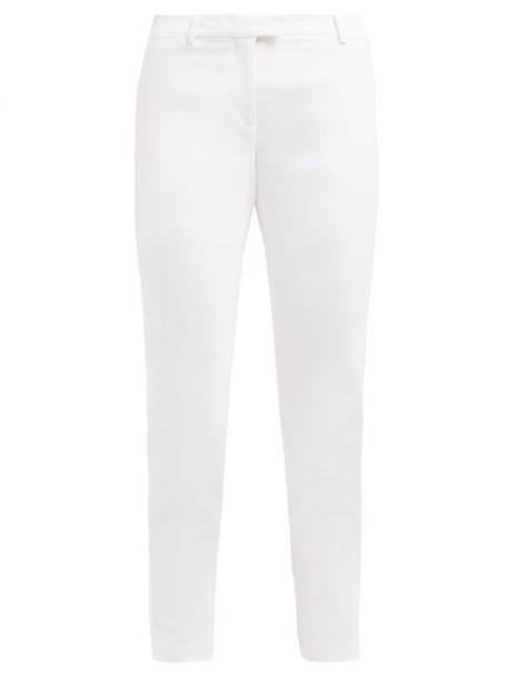 Altuzarra - Henri Cigarette Crepe Trousers - Womens - White