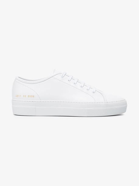 Common Projects Tournament Low Super sneakers in white