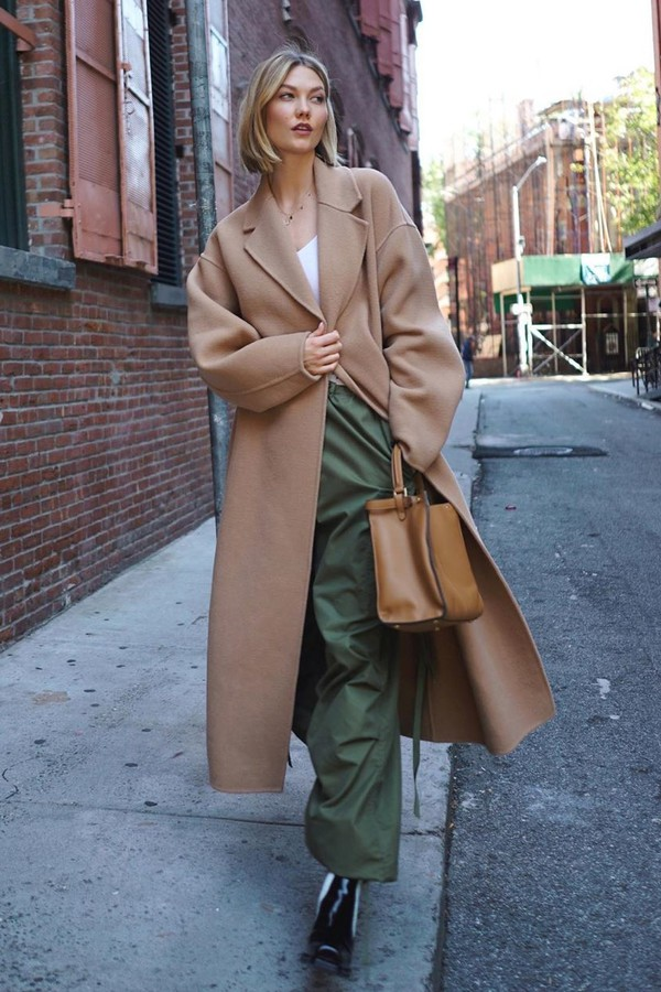 pants karlie kross model off-duty fall outfits