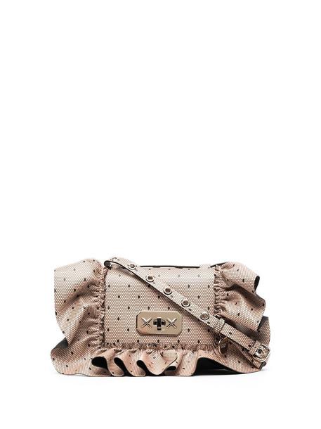 RED(V) RED(V) Rock Ruffles XL shoulder bag - Metallic