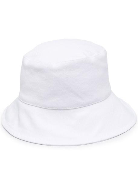 Isabel Marant wide-brim bucket hat - White