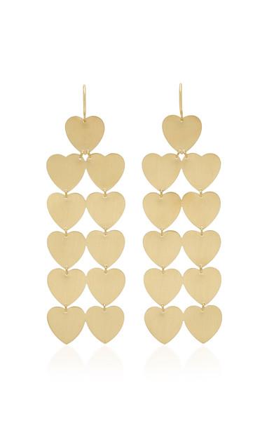 Irene Neuwirth 18K Gold Earrings