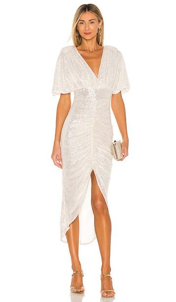 NBD Krystle Maxi Dress in White