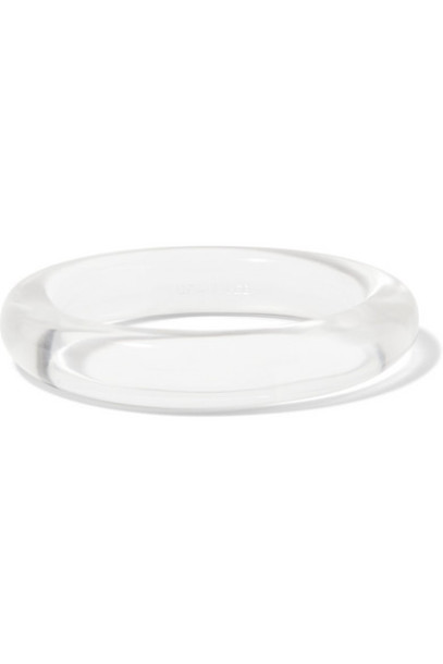 Grace Lee - Resin Bangle - White