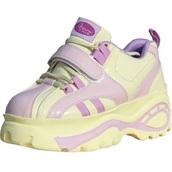 shoes,yellow,lavender,platform shoes,sneakers,platform sneakers,cream,purple
