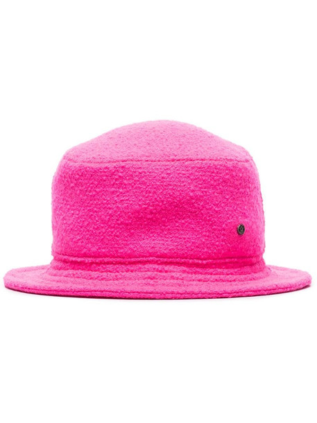 Maison Michel Jason textured bucket hat in pink