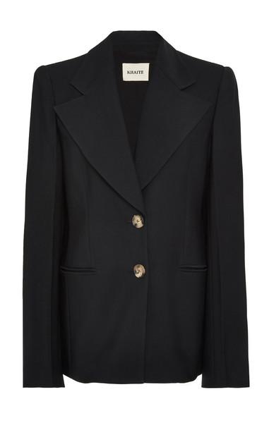 Khaite Alexis Classic Blazer in black