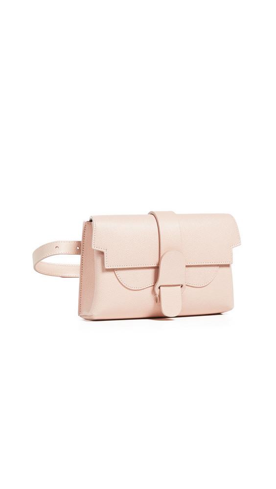 Senreve The Aria Belt Bag in blush