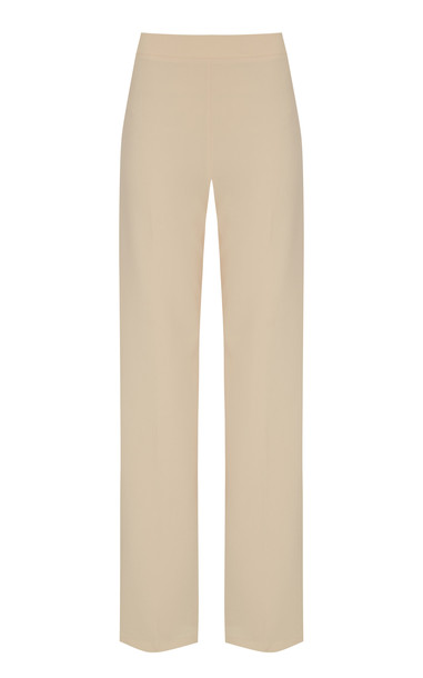 Safiyaa Natasha Heavy Crepe Trousers in neutral