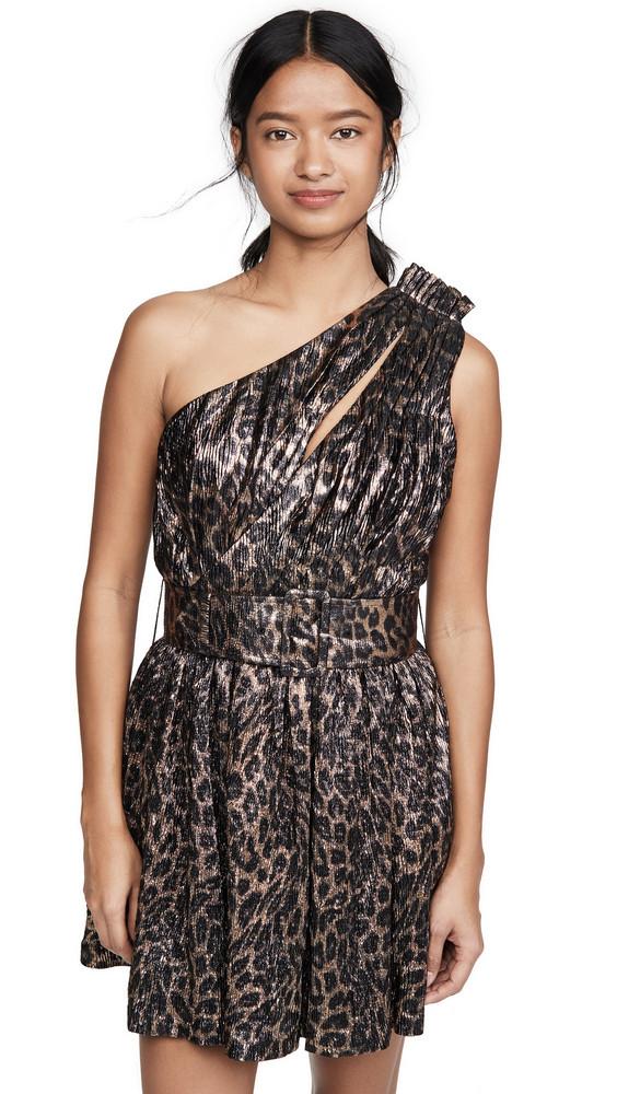 Retrofete Kayla Dress in leopard