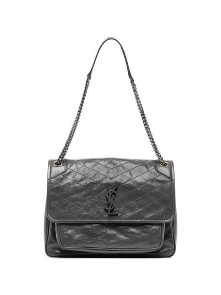 Saint Laurent large Niki shoulder bag in grey