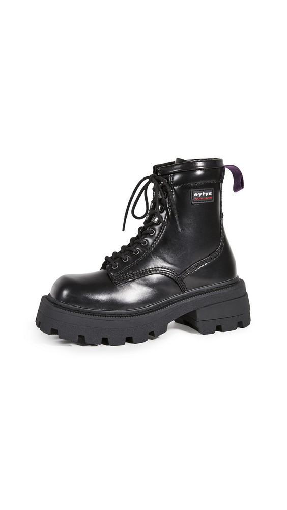 Eytys Michigan Leather Boots in black