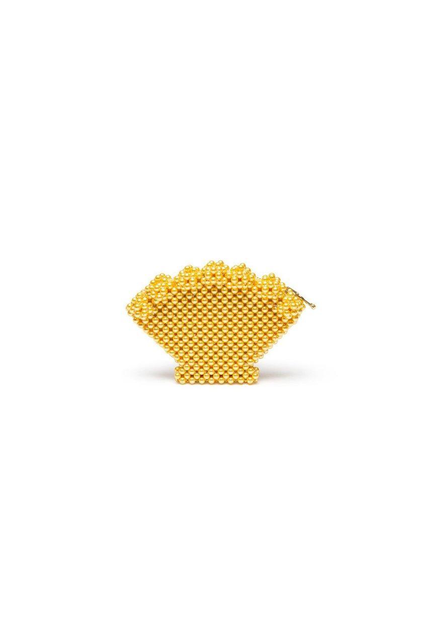 Shrimps Shell Purse - Yellow