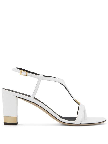 Giuseppe Zanotti Katharina sandals in white