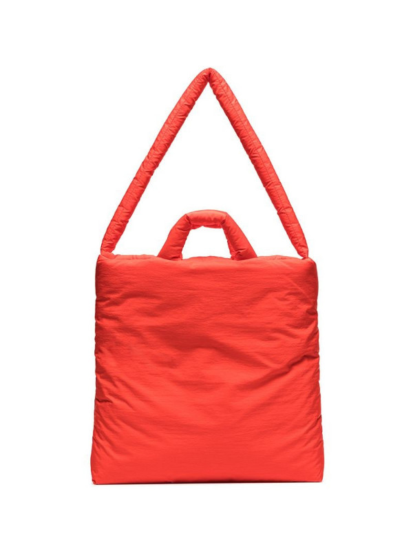 KASSL Editions padded tote bag in red