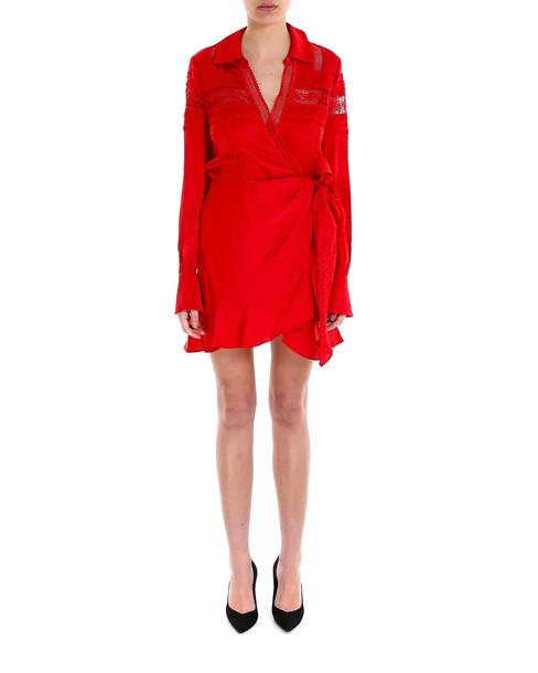 self-portrait Dress in red