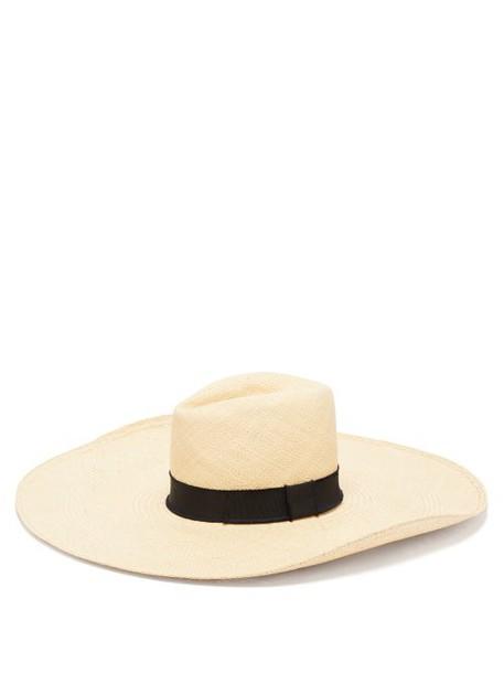 House Of Lafayette - Brandi Wide Brim Straw Hat - Womens - Natural