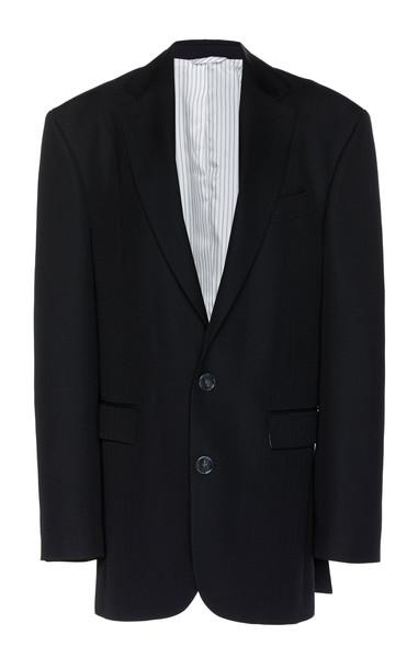 Acne Studios Grain De Poudre Blazer Size: 42 in black