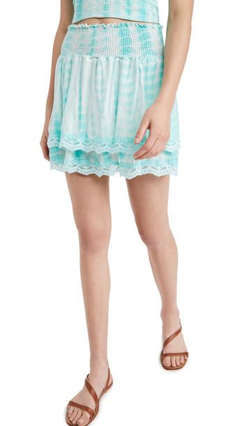 Peixoto Belle Skirt in turquoise