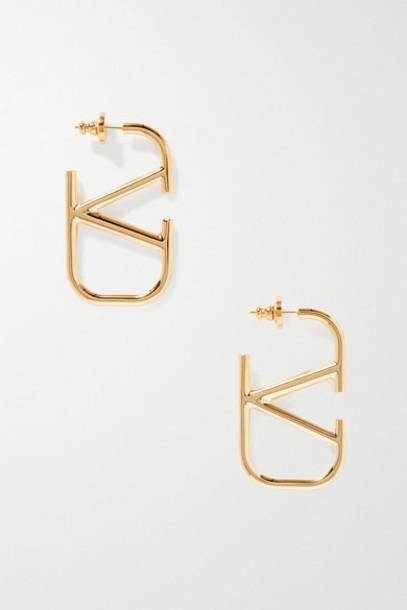 Valentino - Valentino Garavani Gold-tone Earrings