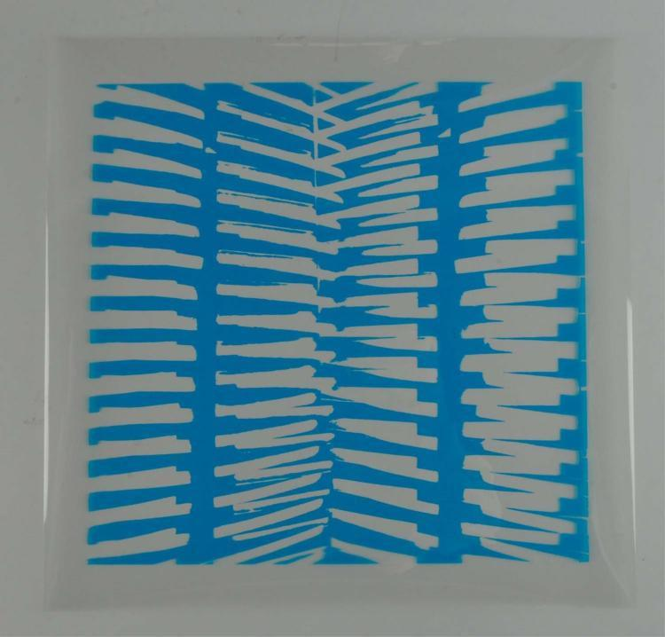 Kim Lim (British, 1936–1997) Screen Print c.1972 Signed Edition 1/15 https://www.artdecornyc.com