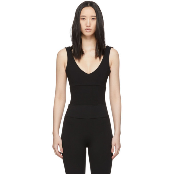 Live the Process Black Aura Bodysuit