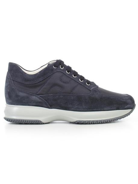 Hogan Interactive Sneakers in blue / denim