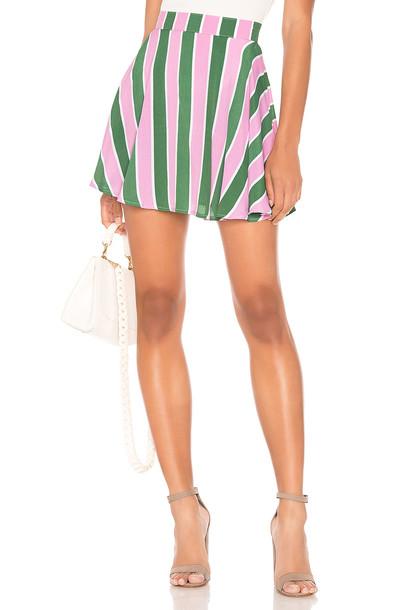 FLYNN SKYE Mindy Mini Skirt in green