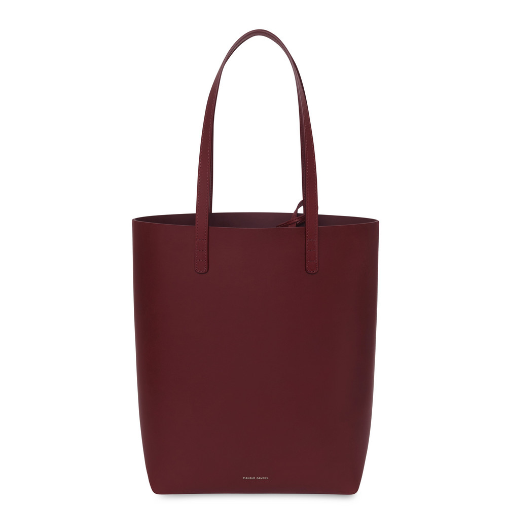 Mansur Gavriel Bordo Everyday Tote - Bordo