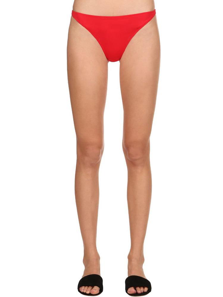 SOLID & STRIPED Re Done Bikini Bottoms in red