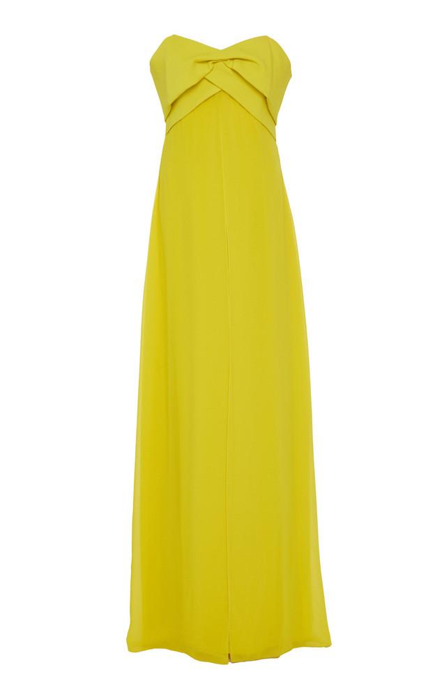 Sachin & Babi Parklane Off Shoulder Gown in yellow