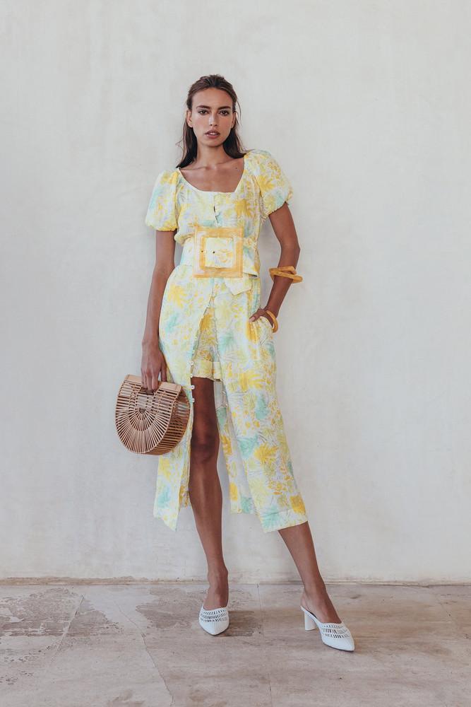 Cult Gaia Charlotte Dress - Lemonade Multi                                                                                               $598.00 USD