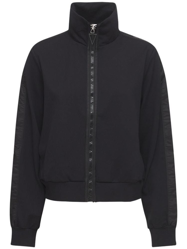 NO KA'OI Lifestyle Zip-up Jacket in black