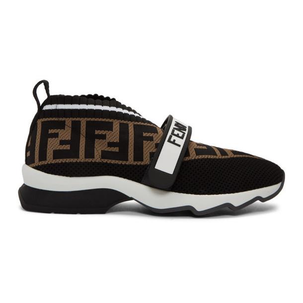 Fendi Black Forever Fendi Rockoko Sneakers