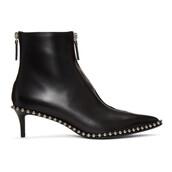 low boots,black,shoes