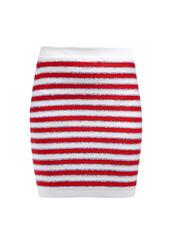 skirt,stripes,knit,sequins,red
