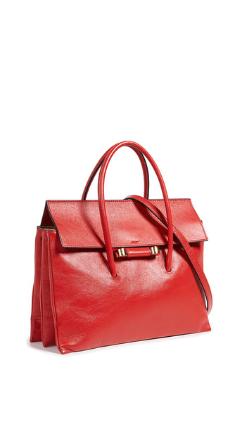 soft bag shoulder bag orange red