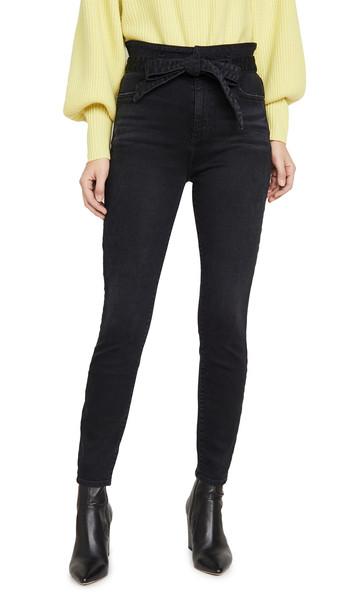 ALICE + OLIVIA JEANS ALICE + OLIVIA JEANS Good High Rise Skinny Jeans in noir